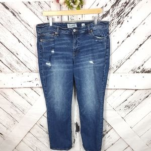 Lucky Brand Sweet Crop Jeans 14/32